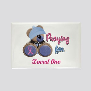 Teddy Bear Prayers Rectangle Magnet