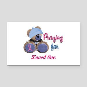 Teddy Bear Prayers Rectangle Car Magnet