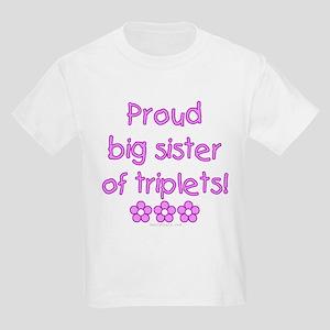 Big sister of triplets Kids T-Shirt
