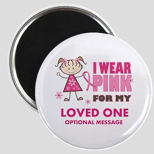 Custom Wear Pink Magnet