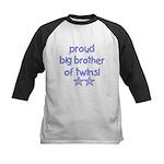 Big brother of twins Kids Baseball Jersey