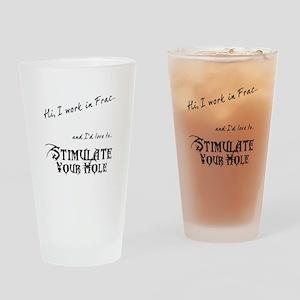 Frac Stimulation Drinking Glass