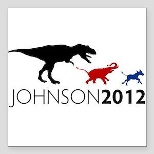 """Gary Johnson 2012 Revolution Square Car Magnet 3"""""""