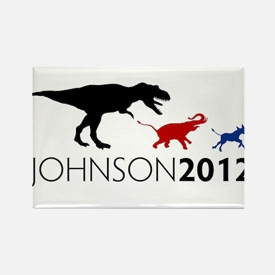 Gary Johnson 2012 Revolution Rectangle Magnet