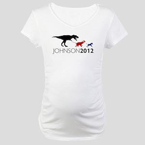 Gary Johnson 2012 Revolution Maternity T-Shirt