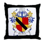MacIver Coat of Arms Throw Pillow