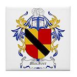 MacIver Coat of Arms Tile Coaster