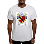 MacIver Coat of Arms Ash Grey T-Shirt