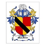 MacIver Coat of Arms Small Poster