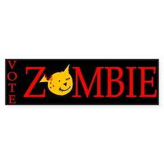 Vote Zombie Bumper Sticker (10 pk)