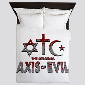 Original Axis of Evil Queen Duvet