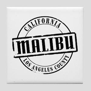 Malibu Title Tile Coaster