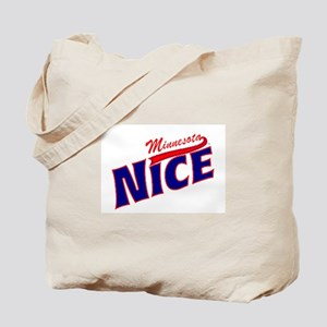 Minnesota Nice Tshirt Tote Bag