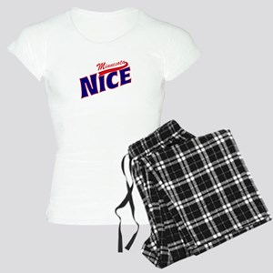 Minnesota Nice Tshirt Women's Light Pajamas