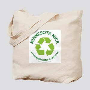Minnesota Nice Renewable Tote Bag