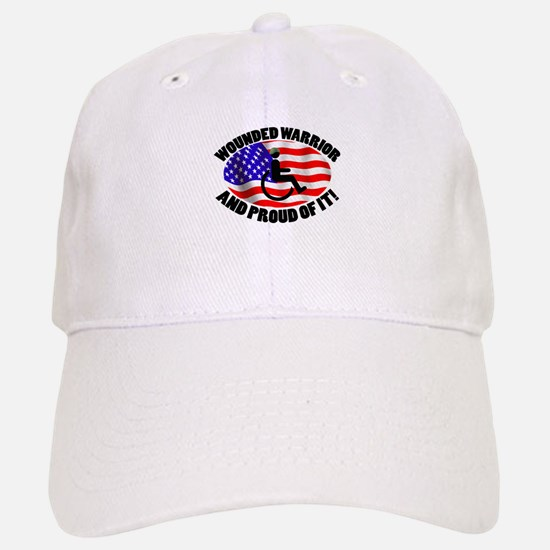 Proud Wounded Warrior Baseball Baseball Cap