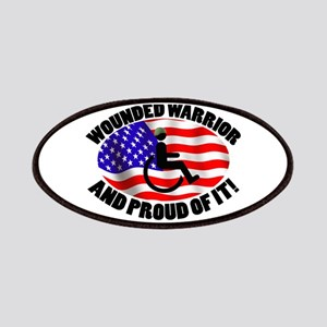 Proud Wounded Warrior Patches