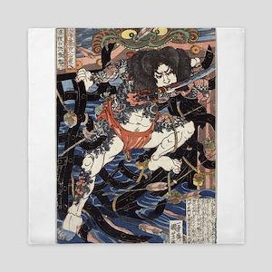 Lang Libai And Fei Zhangan - Kuniyoshi Utagawa - 1
