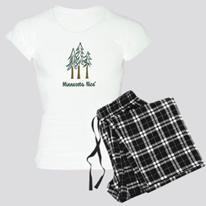 Minnesota Nice trees Women's Light Pajamas