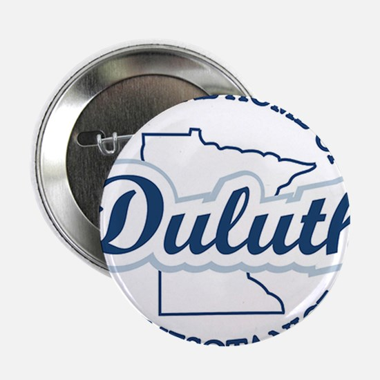"Minnesota Nice Duluth Official Home 2.25"" Button"