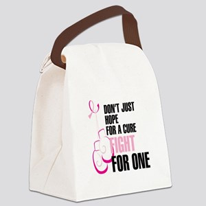 Fight for a Cure Canvas Lunch Bag