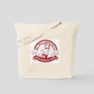 Minnesota Nice st paul girl Tote Bag