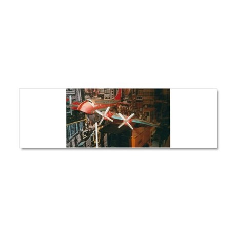Star Airplanes. Car Magnet 10 x 3