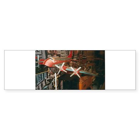 Star Airplanes. Sticker (Bumper)