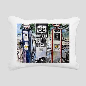 route_66 Rectangular Canvas Pillow