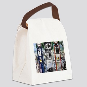route_66 Canvas Lunch Bag