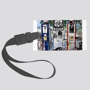 route_66 Large Luggage Tag
