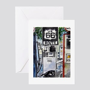route_66 Greeting Card