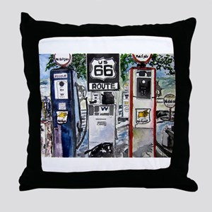 route_66 Throw Pillow
