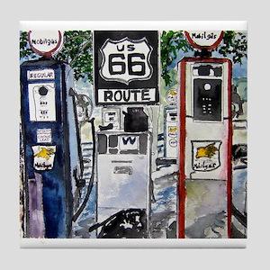 route_66.JPG Tile Coaster