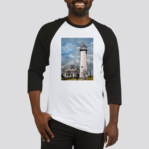 pointe_aux_Barques_Lighthouse Baseball Jersey