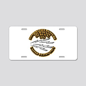 Navy - Rate - IT Aluminum License Plate