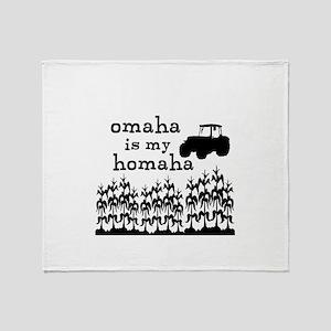 Omaha is My Homaha! Throw Blanket