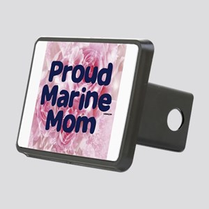 Proud Marine Mom Rectangular Hitch Cover