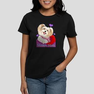 Morkie Mom Women's Dark T-Shirt