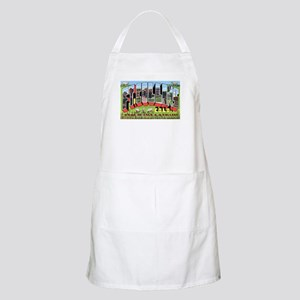Fort Collins Colorado Greetings BBQ Apron