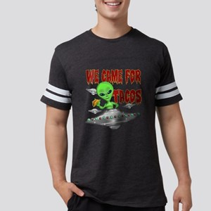 WE CAME FOR THE TACOS Mens Football Shirt