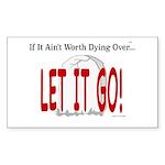 Let It Go Sticker (Rectangle 50 pk)