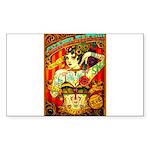 Chapel Tattooed Beautifu Sticker (Rectangle 50 pk)