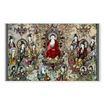 SONG DYNASTY Ancient Chi Sticker (Rectangle 50 pk)