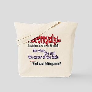 Fibromyalgia Introduction Tote Bag