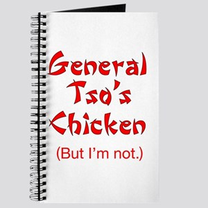 General Tso's Chicken - Journal
