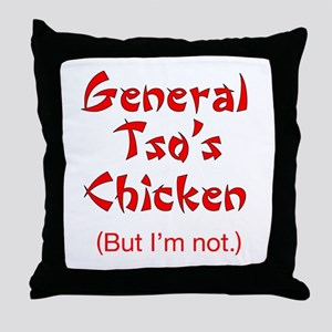 General Tso's Chicken - Throw Pillow