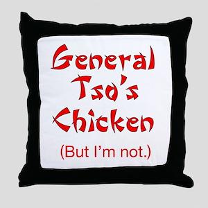 General Tso's Chicken - Throw Pillow