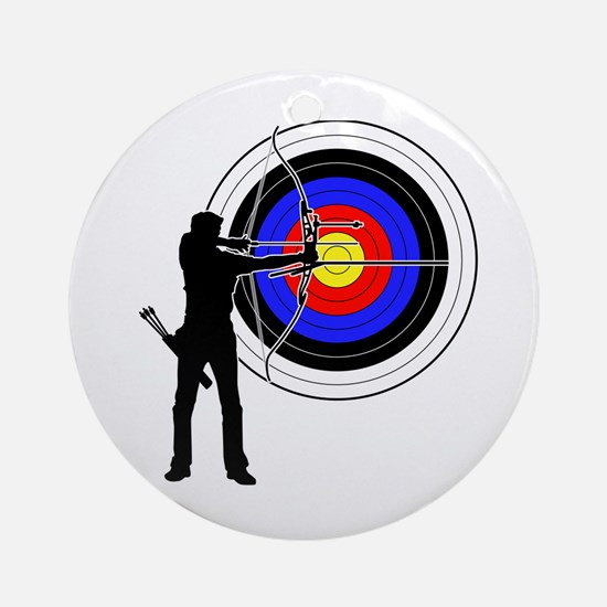 archery man Ornament (Round)