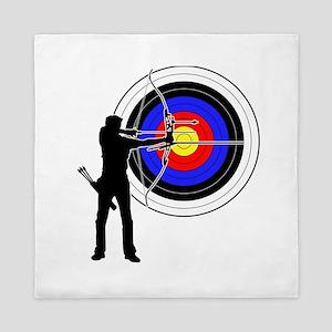 archery man Queen Duvet